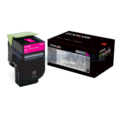 LEXMARK CX510 TONER CARTRIDGE MAGENTA 4K
